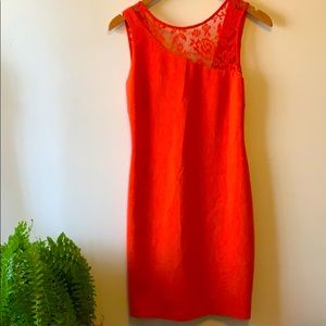 🔆 4/25$ 🔆ZARA Coral Dress with open back